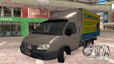 Negócios Gazela 2016 para GTA San Andreas