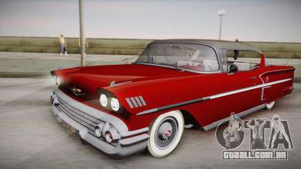 Chevrolet Impala Sport Coupe V8 1958 IVF para GTA San Andreas
