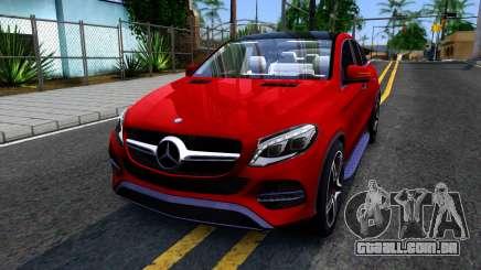 Mercedes-Benz GLE 450 AMG 2015 para GTA San Andreas