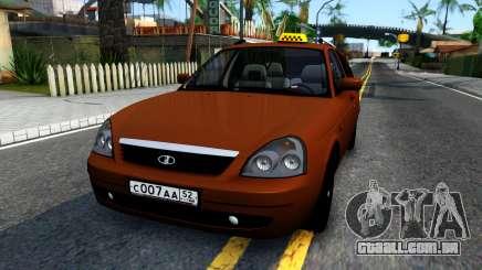 VAZ 2171 de Táxi para GTA San Andreas