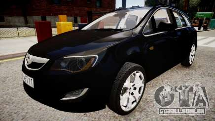 Opel Astra Sports Tourer 2011 para GTA 4