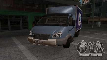 GAZ 3310 Valday para GTA San Andreas
