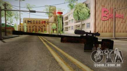 Sniper Estilo Ejercito Mexicano para GTA San Andreas