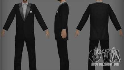 Um vagabundo com uma jaqueta para GTA San Andreas