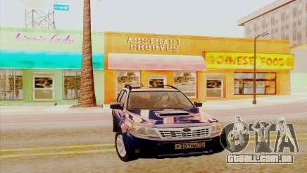 Subaru Forester XT para GTA San Andreas