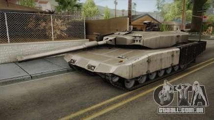 Leopard 2 MBT Revolution para GTA San Andreas