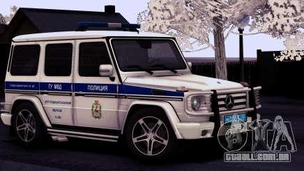 A Mercedes-Benz G55 AMG ГУ МВД para GTA San Andreas
