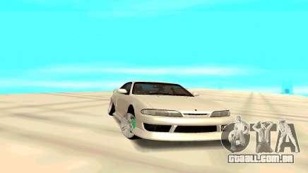 Nissan Silvia White S14 para GTA San Andreas