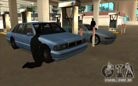 Situação de vida v6.0 - posto de gasolina para GTA San Andreas