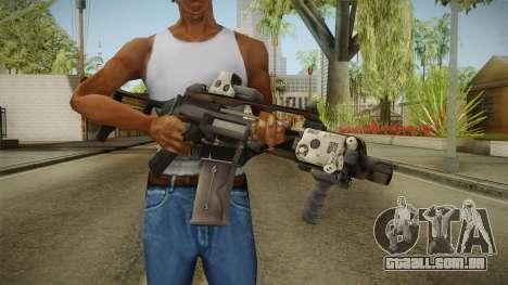 Battlefield 4 - HK G36C para GTA San Andreas terceira tela
