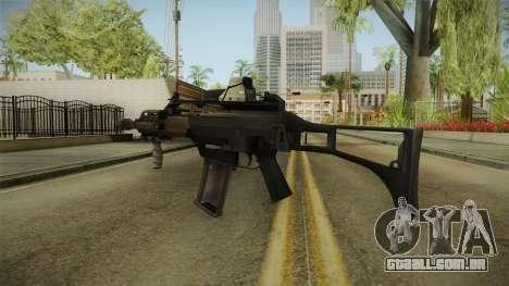 Battlefield 4 - HK G36C para GTA San Andreas segunda tela