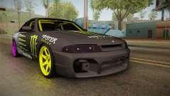 Nissan Skyline R33 Drift Monster Energy Falken para GTA San Andreas