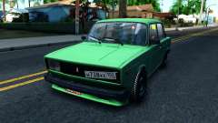 ВАЗ 2105 Winter Drift para GTA San Andreas