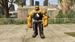 The Thing Black Jersey para GTA 5