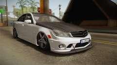 Mercedes-Benz C63 AMG 2012 para GTA San Andreas