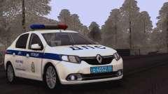 Renault Logan SOBRE a polícia de trânsito