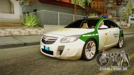 Opel Insignia Da Guardia Civil Tráfego para GTA San Andreas