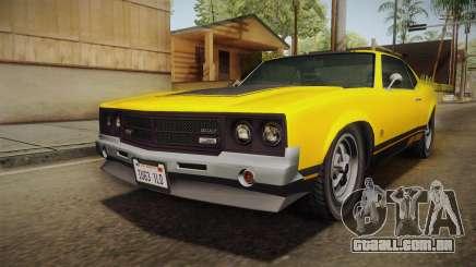GTA 5 Declasse Sabre GT para GTA San Andreas