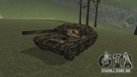 Rhino floresta camo para GTA San Andreas