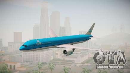 Boeing 787 KLM para GTA San Andreas