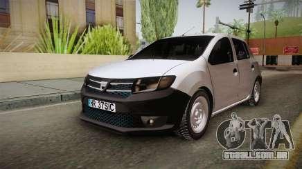 Dacia Sandero Székely para GTA San Andreas