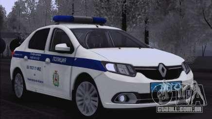 2016 Renault Logan para Moi. para GTA San Andreas