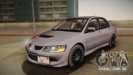Mitsubishi Lancer GSR Evolution VIII 2003 para GTA San Andreas