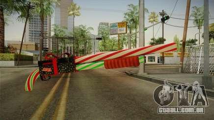 Vindi Xmas Weapon 2 para GTA San Andreas