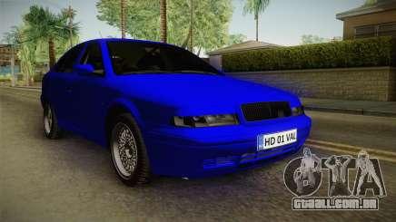 Skoda Octavia Simply Clean para GTA San Andreas