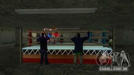 Ilegal torneio de Boxe 1.0 para GTA San Andreas