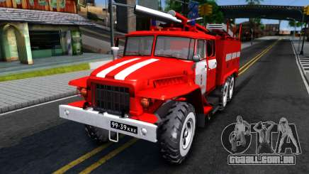 Ural 375 Victor Kibenko para GTA San Andreas