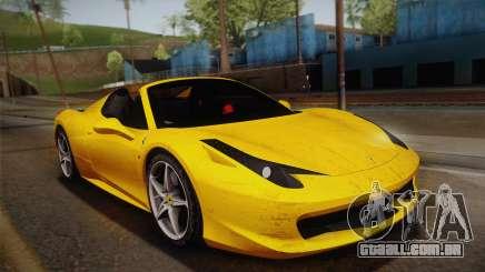 Ferrari 458 Spider FBI para GTA San Andreas