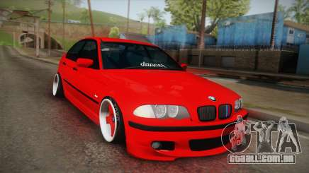 BMW 3 Series E46 Sedan para GTA San Andreas