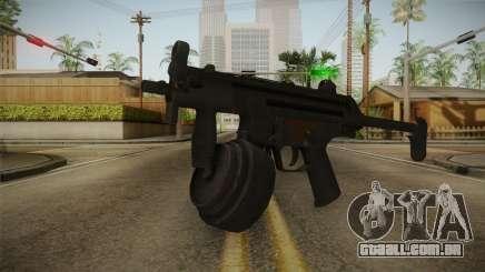 MP-5K Drum Mags para GTA San Andreas