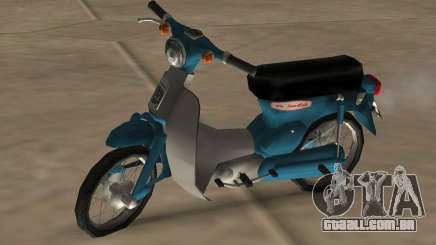 Honda Cub Super Modificado para GTA San Andreas