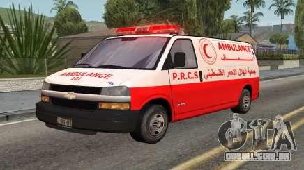 Ambulância Palestina para GTA San Andreas