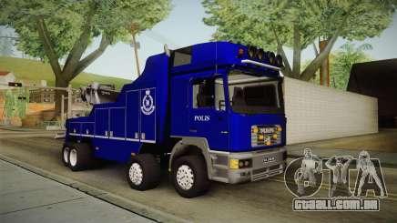 MAN F2000 Tow Truck PDRM para GTA San Andreas