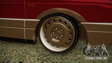 Volkswagen Passat B3 GT 2.0 para GTA San Andreas vista traseira