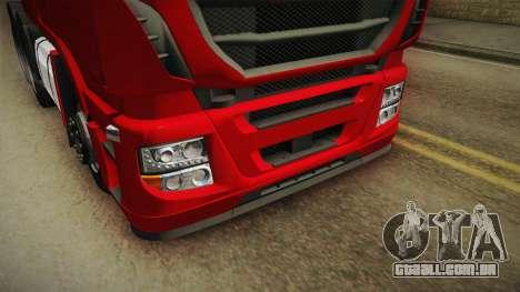 Iveco Stralis Hi-Way 560 E6 6x4 v3.1 para vista lateral GTA San Andreas