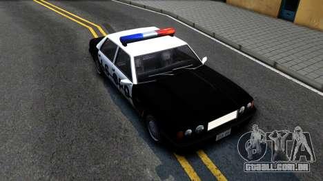 Vincent Cop para GTA San Andreas vista direita
