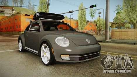 Volkswagen Beetle 2013 Daily Car para GTA San Andreas