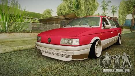 Volkswagen Passat B3 GT 2.0 para GTA San Andreas