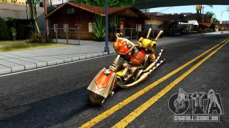 Mehanotsikl para GTA San Andreas