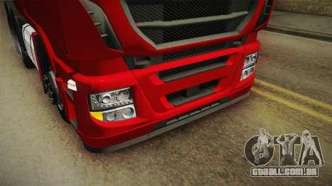 Iveco Stralis Hi-Way 560 E6 6x4 v3.1 para GTA San Andreas vista superior
