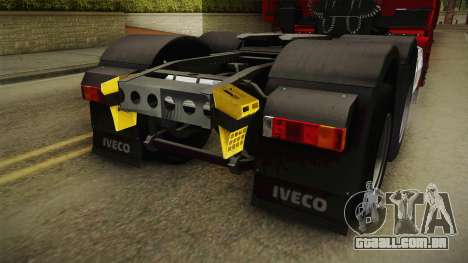 Iveco Stralis Hi-Way 560 E6 6x4 v3.1 para GTA San Andreas vista inferior