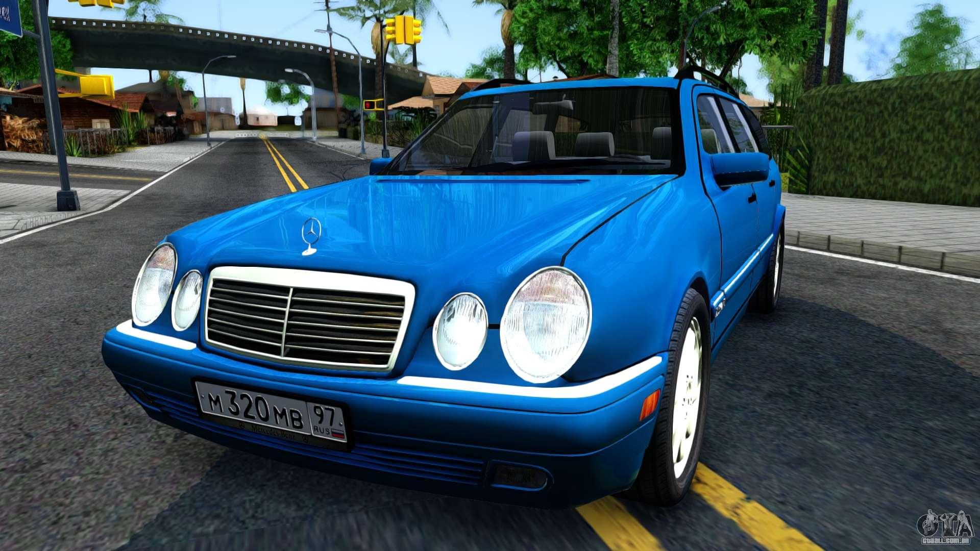 Mercedes benz w210 e320 1997 para gta san andreas for Mercedes benz car shop