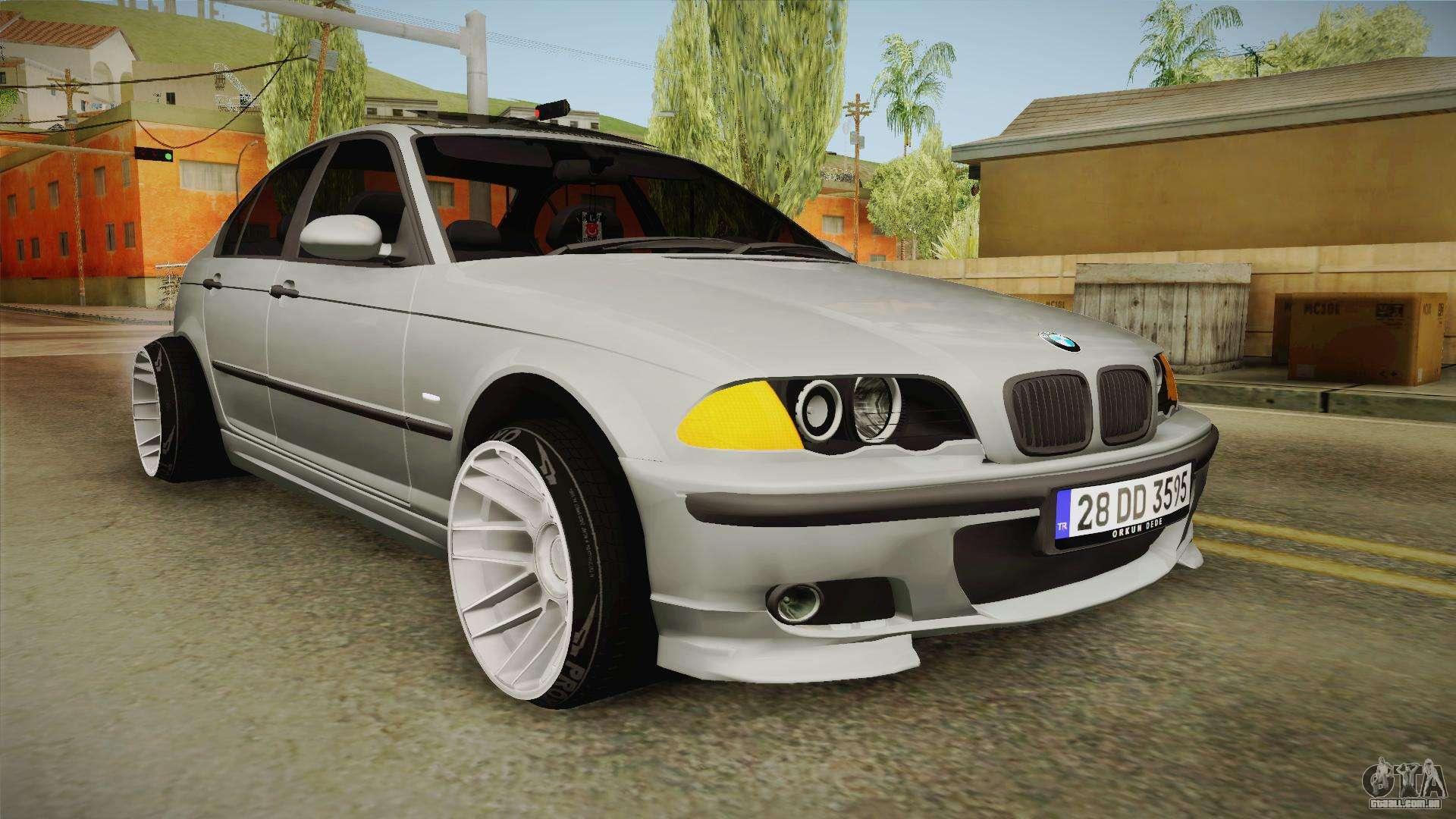 bmw 320d e46 sedan para gta san andreas. Black Bedroom Furniture Sets. Home Design Ideas