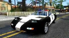 ZR-350 SFPD Police Pursuit Car para GTA San Andreas