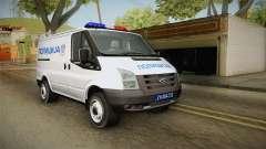 Ford Transit Polícia para GTA San Andreas