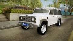Land Rover Defender 110 Policija Undercover